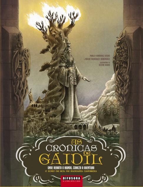 As Crónicas de Gáidil. Onde remata o mundo, comeza a aventura. O xogo de rol de fantasía castrexa.