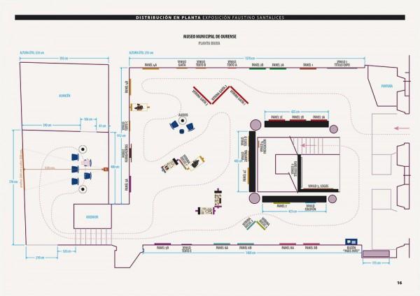 Plano de planta do 1º andar