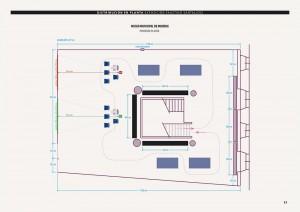 Plano de planta do 2º andar