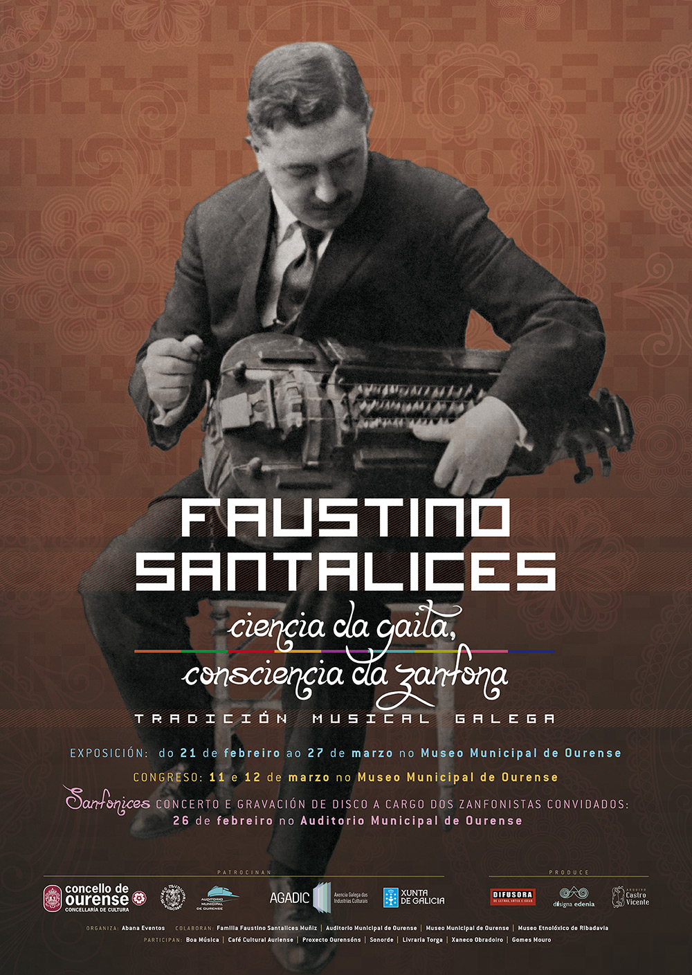 CARTEL FAUSTINO SANTALICES