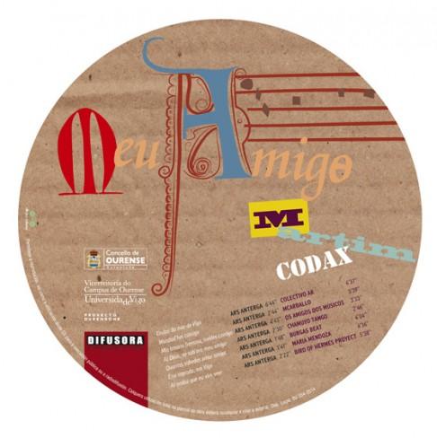 Meu Amigo Martím Codax, CD